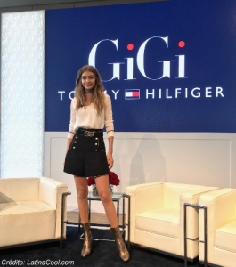 Gigi Hadid rueda de prensa NYFW