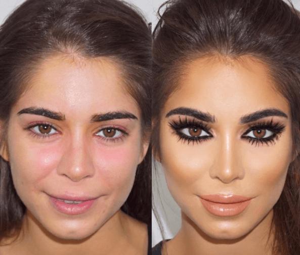 Transformaciones de maquillaje más impactantes