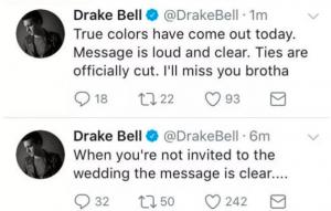 Drake no fue invitado a la boda de Josh