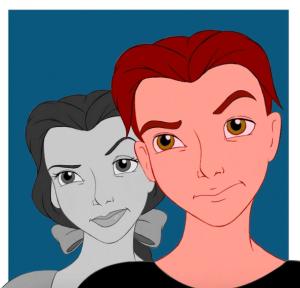 Así se verían los personajes de Disney versión transgénero