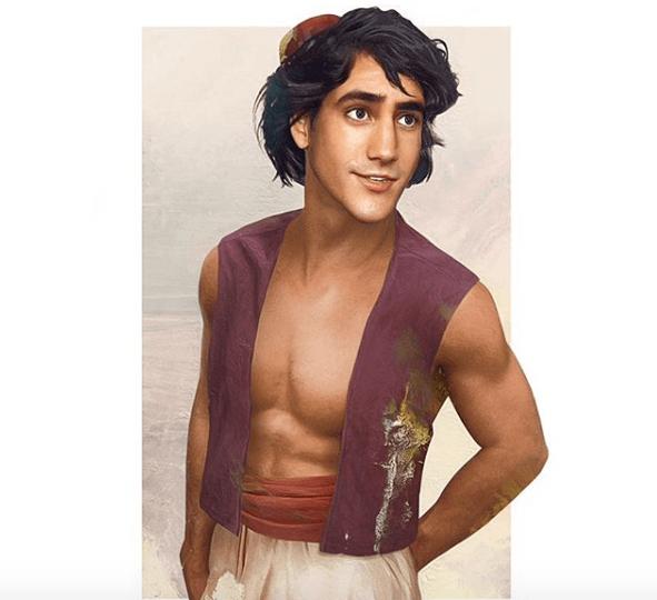 príncipes de Disney en la vida real