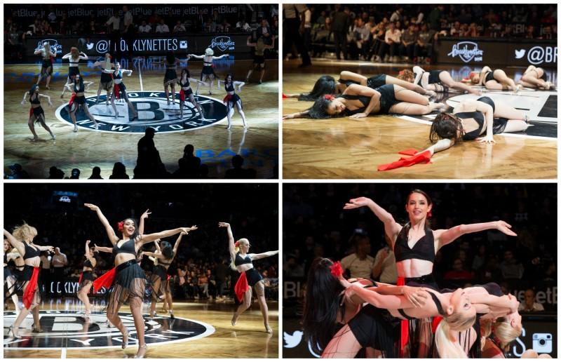 Las 'Brooklynettes' interpretraron el mambo 'Oye como va' con una excelente coreografía