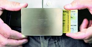cinturón cartera