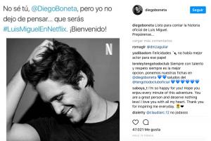 Diego Boneta será Luis Miguel en serie Netflix