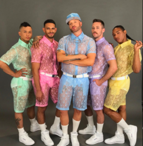 shorts de encaje para hombres