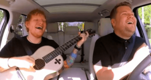 Ed Sheeran se sube al Carpool Karaoke