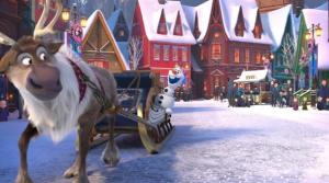 Corto de Frozen protagonizado por Olaf