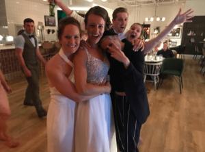 Kristen Stewart se coló a una boda gay