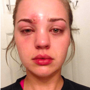 chica casi muere por no lavar sus brochas de maquillaje