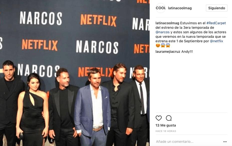 Estreno de la tercera temporada de Narcos