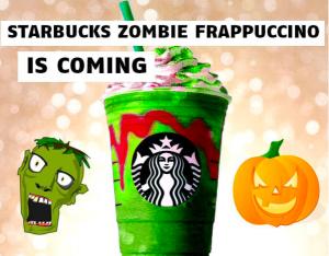 Starbucks lanzará el Zombie Frappuccino