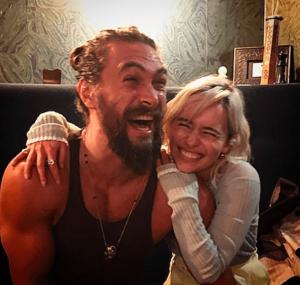 Khal Drogo y Daenerys Targaryen se reencuentran