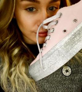 colección de Miley Cyrus para Converse
