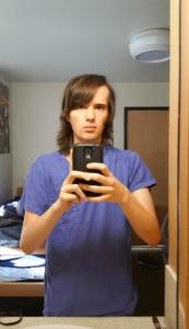 chica transgénero documentó su transformación