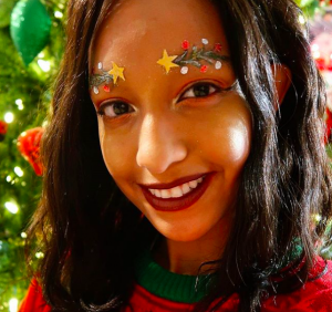 cejas de árbol navideño
