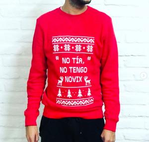 suéter navideño para sobrevivir a las reuniones familiares