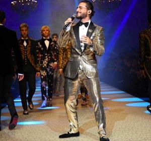 Maluma debutó como modelo