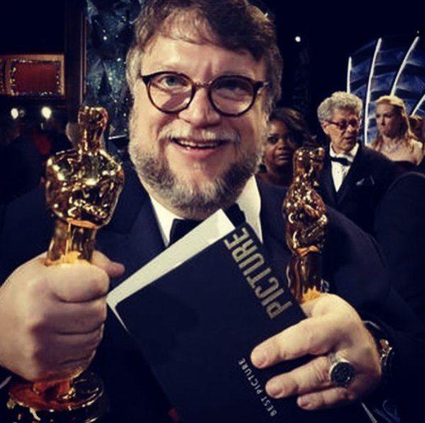 reacciones al triunfo de Guillermo del Toro