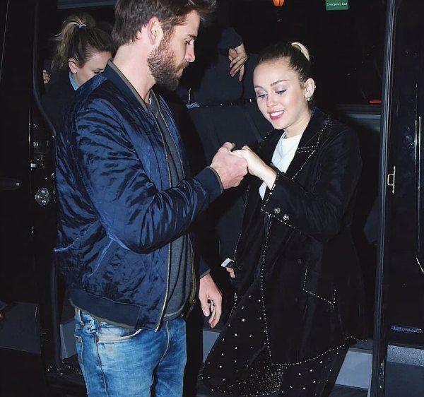 Miley Cyrus y Liam Hemsworth planean boda secreta
