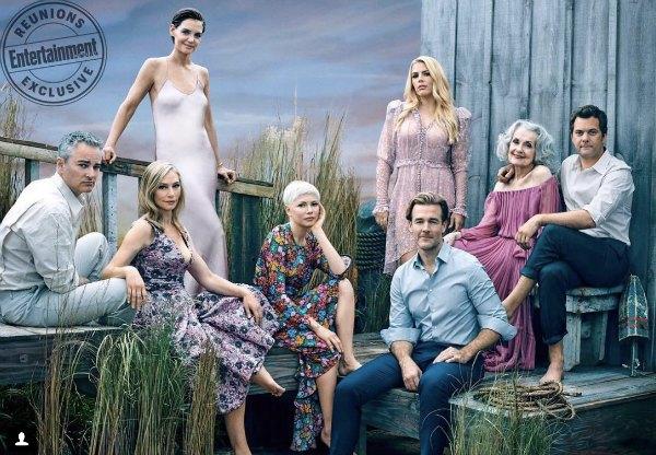 Protagonistas de Dawson's Creek se reúnen