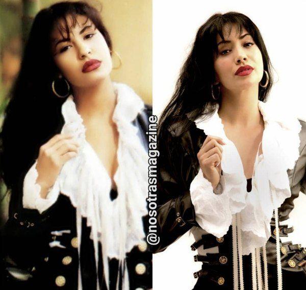 actriz que interpretará a Selena Quintanilla