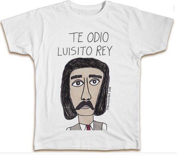 playera de Luisito Rey