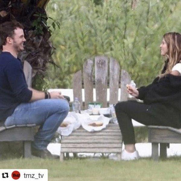 Chris Pratt y la hija de Arnold Schwarzenegger