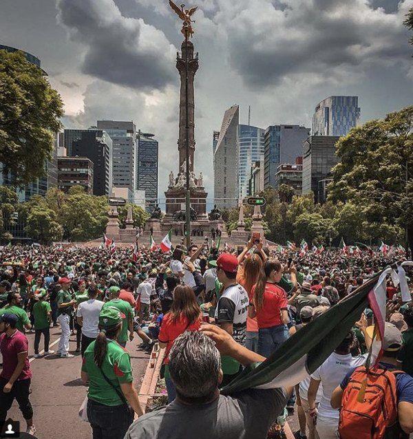 Celebración de México provocó un sismo