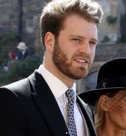 guapo sobrino de la Princesa Diana