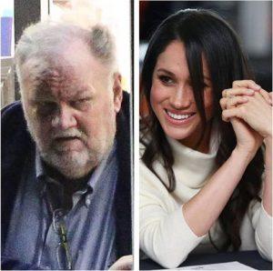 papá de Meghan Markle atacó a su hija