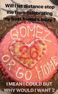 celebró Selena Gomez su cumpleaños 1