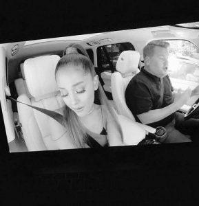 Carpool karaoke de Ariana Grande