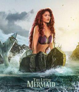 Zendaya podría interpretar a La Sirenita