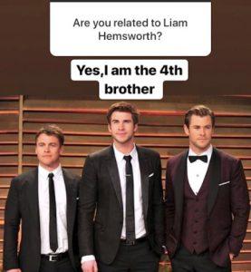 gemelo de Liam Hemsworth