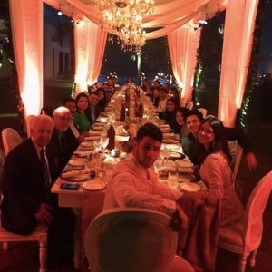 famosos celebraron Thanksgiving