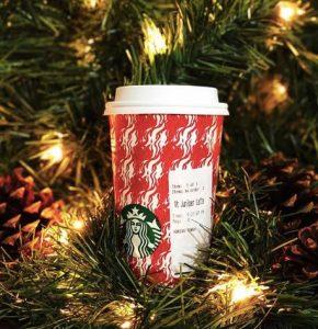 nueva bebida navideña de Starbucks