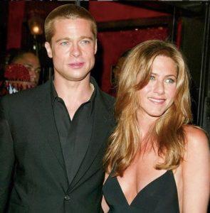 Brad Pitt y Jeniffer Aniston juntos