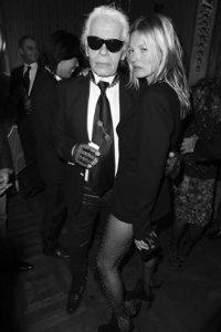 modelos se despidieron de Karl Lagerfeld