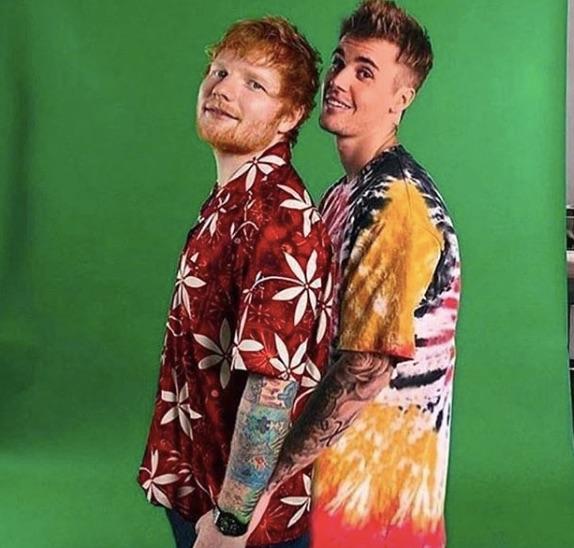 nueva canción de Justin Bieber y Ed Sheeran