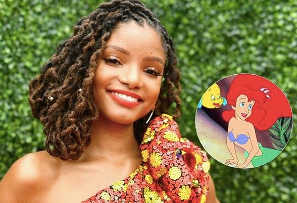 Halle Bailey será Ariel en La Sirenita