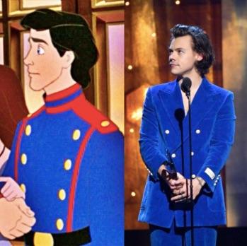 Harry Styles será el Príncipe Eric