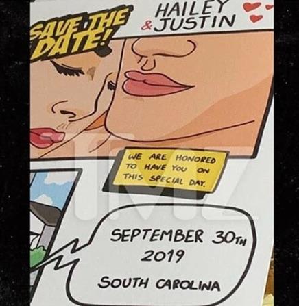 fecha de la boda de Justin Bieber y Hailey Baldwin