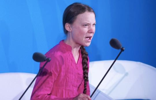 El discurso de la chica de 16 años
