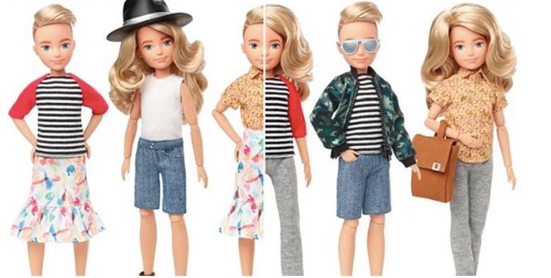 muñecas de género neutral