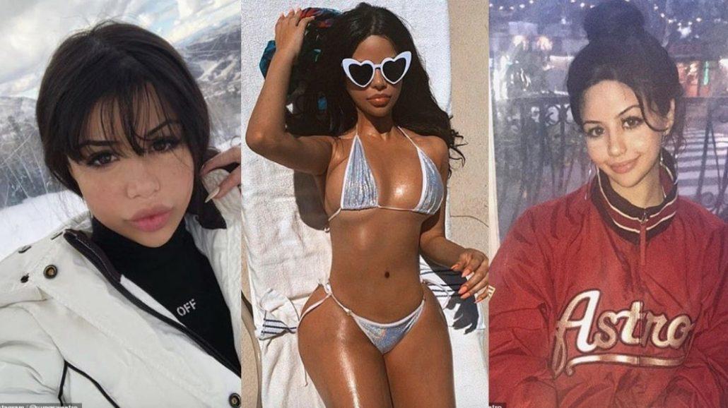 chica con la que Travis Scott engañó a Kylie Jenner