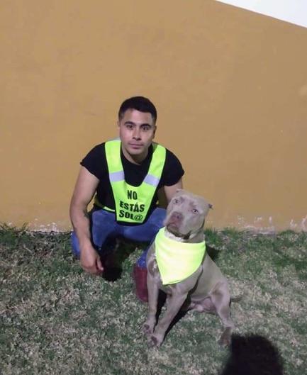 chico y su perro , chicas en peligro